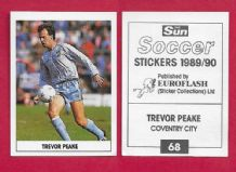 Coventry City Trevor Peake 68